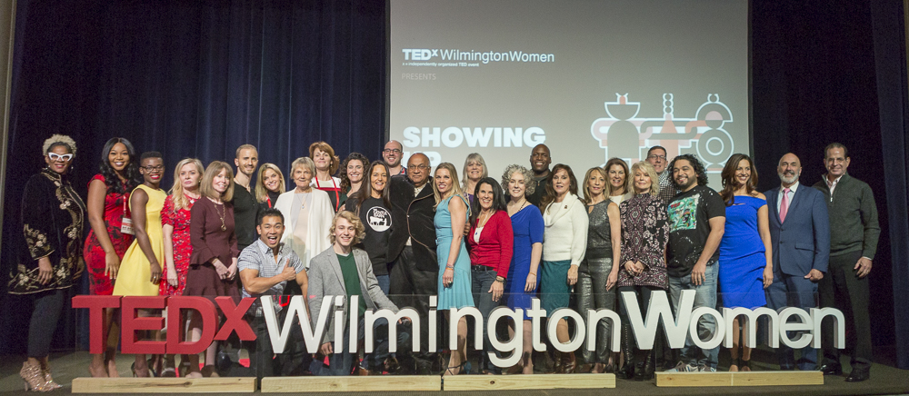 TEDxWilmingtonWomen 2018, Photograph by Alessandra Nicole